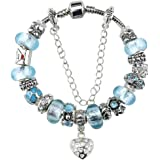 White Birch Charm Bracelet & Charm for Pandora Bracelet Birthday Gift for 10 Year Old Girl Teen Jewelry