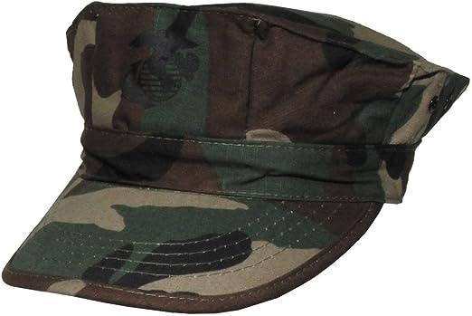 Gorra de estilo marine americano, color - Tarnfarbe, Woodland ...