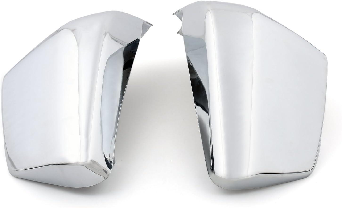 Topteng Batterie pour Covers Side pour Honda VT750C Ombre Aero 04-13 VT750C2 Spirit 2007-2013