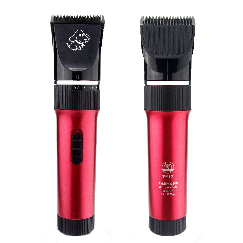 Pet Grooming Clippers Dog and Cat Hair Grooming Trimmer Kit Quiet Animal Clippers and Trimmer