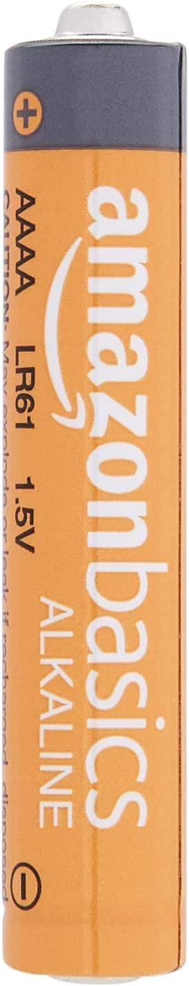 Basics AAAA 1.5 Volt Everyday Alkaline Batteries - Pack of 8: Health & Personal Care