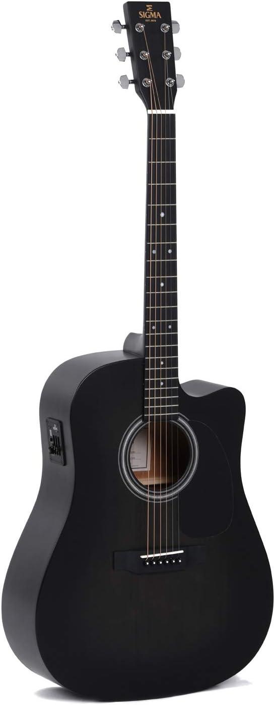 Sigma Guitars DMCE-BKB+ · Guitarra acústica