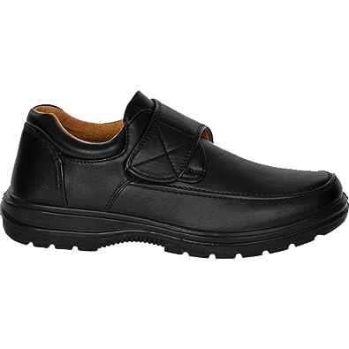 Sapphire Boutique by Sapphire - Mocasines de Piel para hombre Negro negro: Amazon.es: Zapatos y complementos