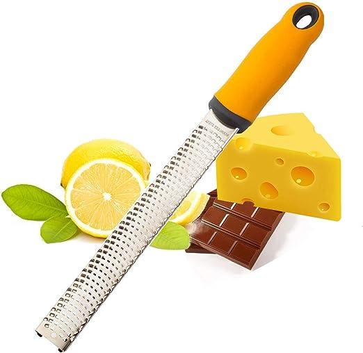 Multipurpose Stainless Steel Grater Cheese Nutmeg Ginger Lemon Zest Orange
