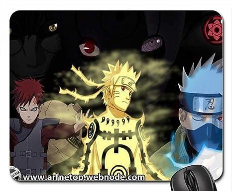 Amazon.com: Naruto Power of Ninja World Mouse Pad, Mousepad ...