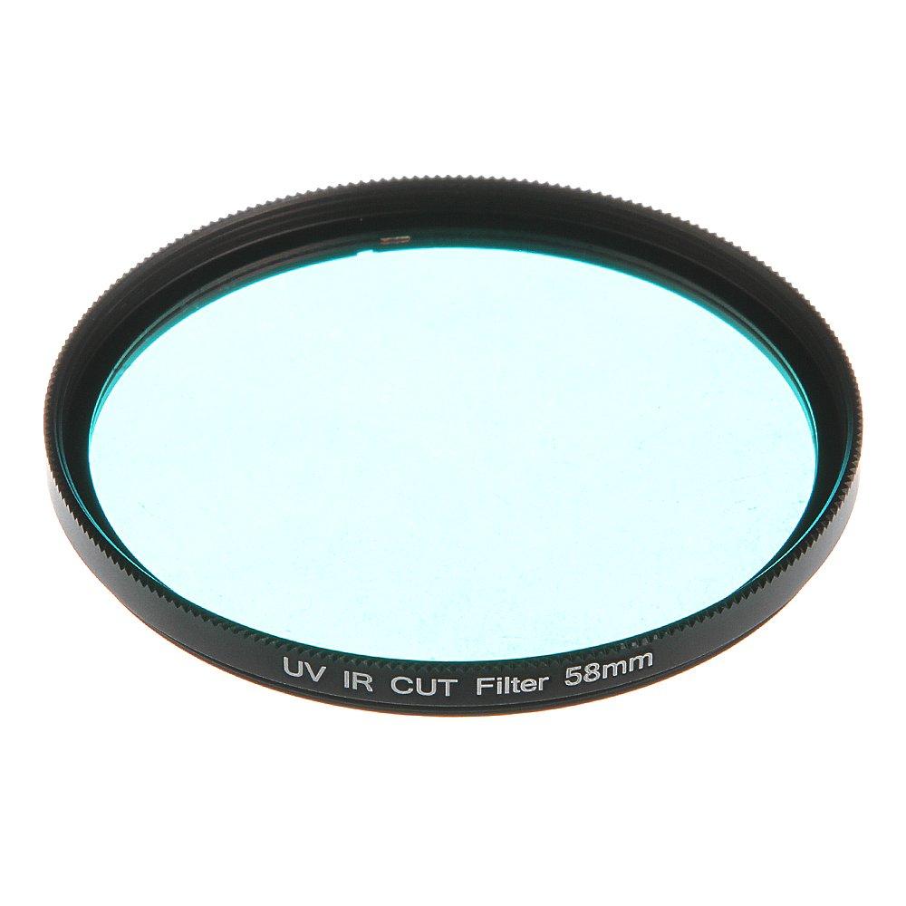 Run Shuangyu 58mm Optical Glass IR Infrared UV Cut Blocking Filter for DSLR Camera Lens CCD