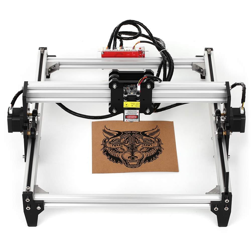 KKmoon 2500mw デスクトップ DIYレーザー彫刻機