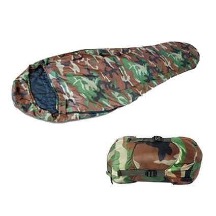 PC Saco de Dormir Militar Camuflaje Supervivencia
