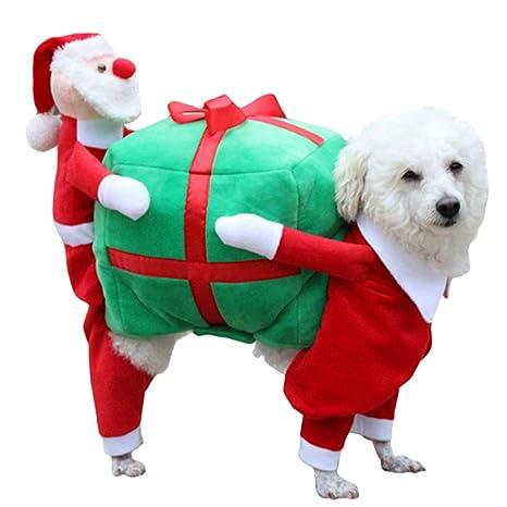 Immagini Natalizie Di Animali.Abbigliamento Per Cani Legendog Costumi Di Natale Di Dog