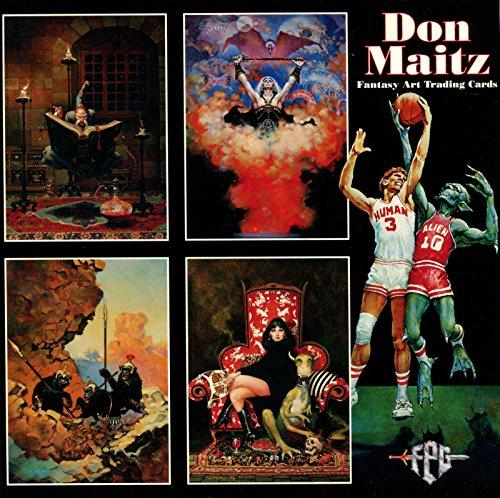 MAITZ, DON FANTASY ART 1994 FPG DELUXE PROMO CARD SHEET #14