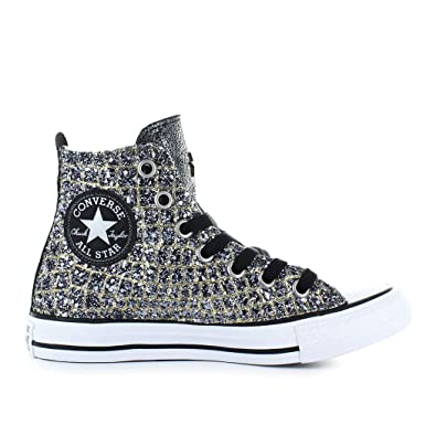 b649aa48fb841 ... converse homme hiver Converse Chaussures Femme Baskets All Star Croco  Or Argent Automne .