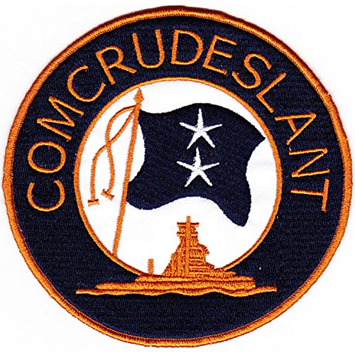 Comcrudeslant Cruiser Destroyer Command Atlantic Fleet Patch