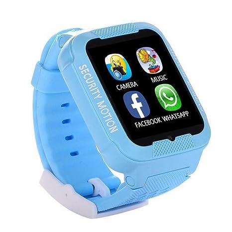 duwin niños posicionamiento Smartphone reloj resistente al agua pantalla táctil cámara GPS de posicionamiento global multilingüe