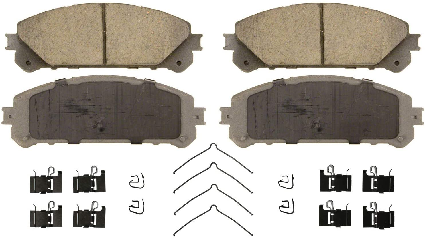 Wagner ThermoQuiet Ceramic Disc Brake Pad Set