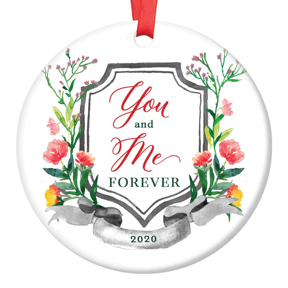 With Me Always Christmas Ornament Picture 2020 Amazon.com: You and Me Forever 2020 Christmas Ornament Ceramic