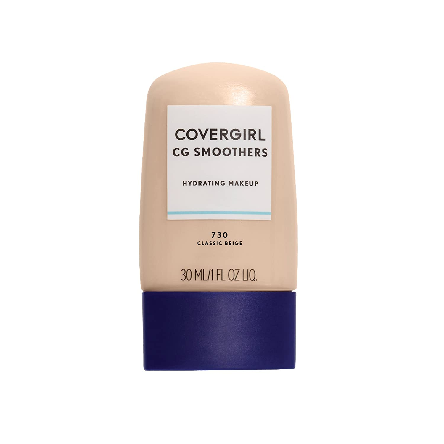 COVERGIRL Smoothers Hydrating Makeup Classic Beige, 1 oz (packaging may vary)