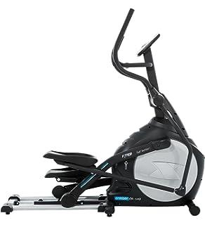 Bicicleta Eliptica semiprofesional plegable de tracción delantera, con 18 Kg de rueda de inercia.