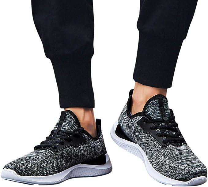 Btruely Hombres Zapatillas Calzado Deportivo Moda Casual Zapatos Tendencia Zapatillas Deportivas Zapatillas Running para Hombre Zapatos Deportivas Ligero Sneakers Gimnasio: Amazon.es: Ropa y accesorios