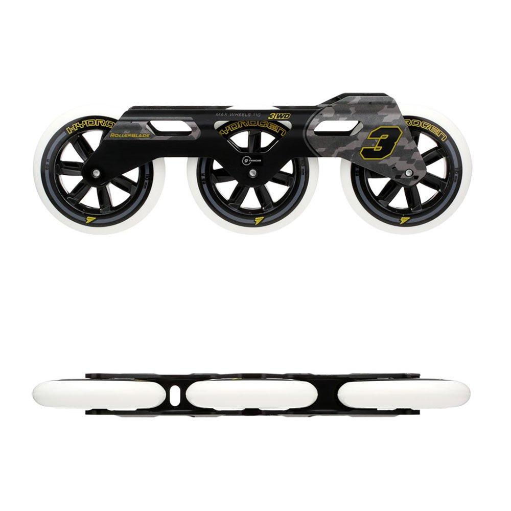 Rollerblade 3WD Urban Pack (1 Pr) Black EA by Rollerblade