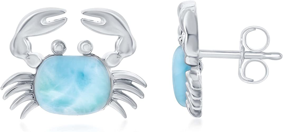 925 sterling silver natural OPALITE bead clip on charm pendant