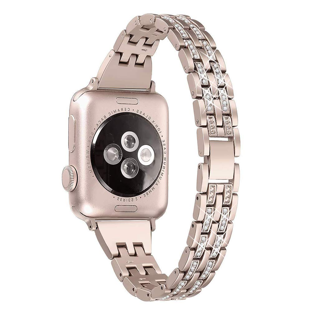 Amazon.com: Stainless Steel Band Strap Compatible Apple ...