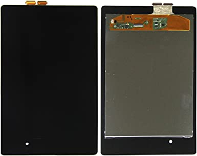 Color : Black Black YANGJIAN LCD Screen and Digitizer Full Assembly with Frame for Asus Nexus PAD 7 2nd ME572 ME572C ME572CL