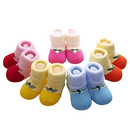 9268647d2 Amazon.com: Suit for 0-3 Years old Kids, DIGOOD 5 Pairs NewBorn Cute ...