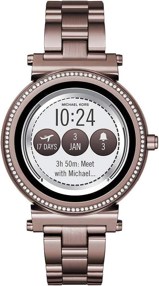 Michael Kors Reloj de Bolsillo Digital Sofie: Amazon.es: Relojes