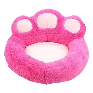 Casa de Perro Camas Para Gatos Perro o Gato Cama 2 in 1 Sofá (Rosa roja-S:40*45 CM): Amazon.es: Productos para mascotas
