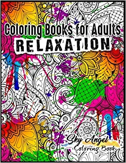 Coloring Books For Adults Relaxation Patterns Designs Stress Relieving Adult Book Universe Of The Pattern Mandala Fun