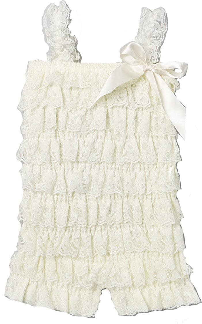 wenchoice Girls Ivory Lace Romper