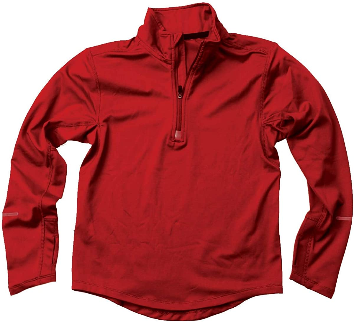 Wes and Willy Red Performance Pullover