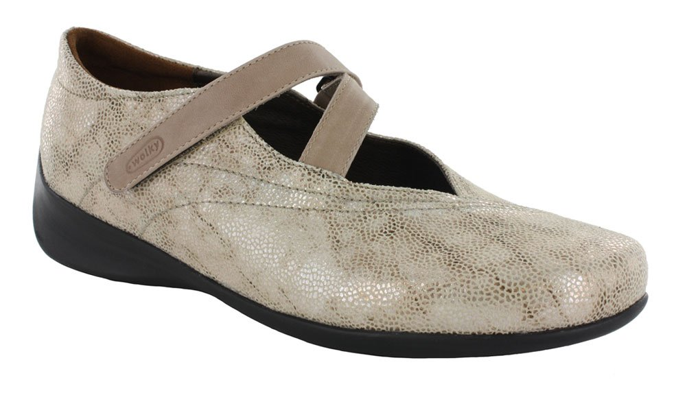 Wolky Comfort Mary Janes Silky B00NLVP6ZY 41 M EU / 9.5-10 B(M) US|Beige