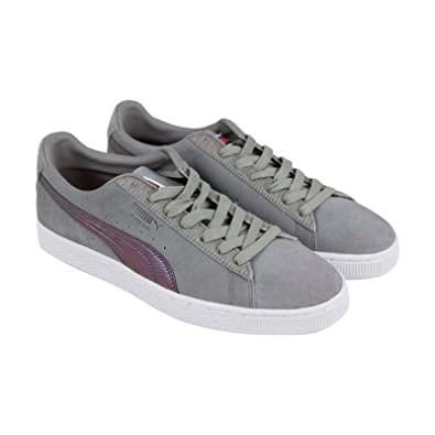 PUMA Men s Shoes Suede Classic X Pigeon Staple Gray Sneakers 366334 01 (8 D( fb783f0b9