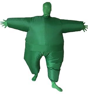 Amazoncom Goodsaleok Funny Fat Inflatable Full Body Costume Suit