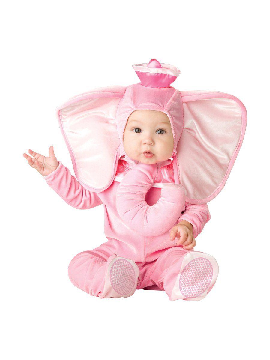 InCharacter Costumes Baby's Pink Elephant Costume, Pink, Large
