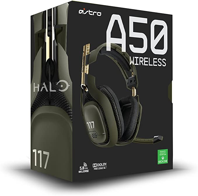 Astro Gaming A50 - Auriculares (inalámbricos, con micrófono, USB ...