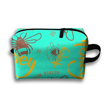 new Cartoon Lovely Bee Stylish Portable Storage Waterproof Travel Organizer Bag