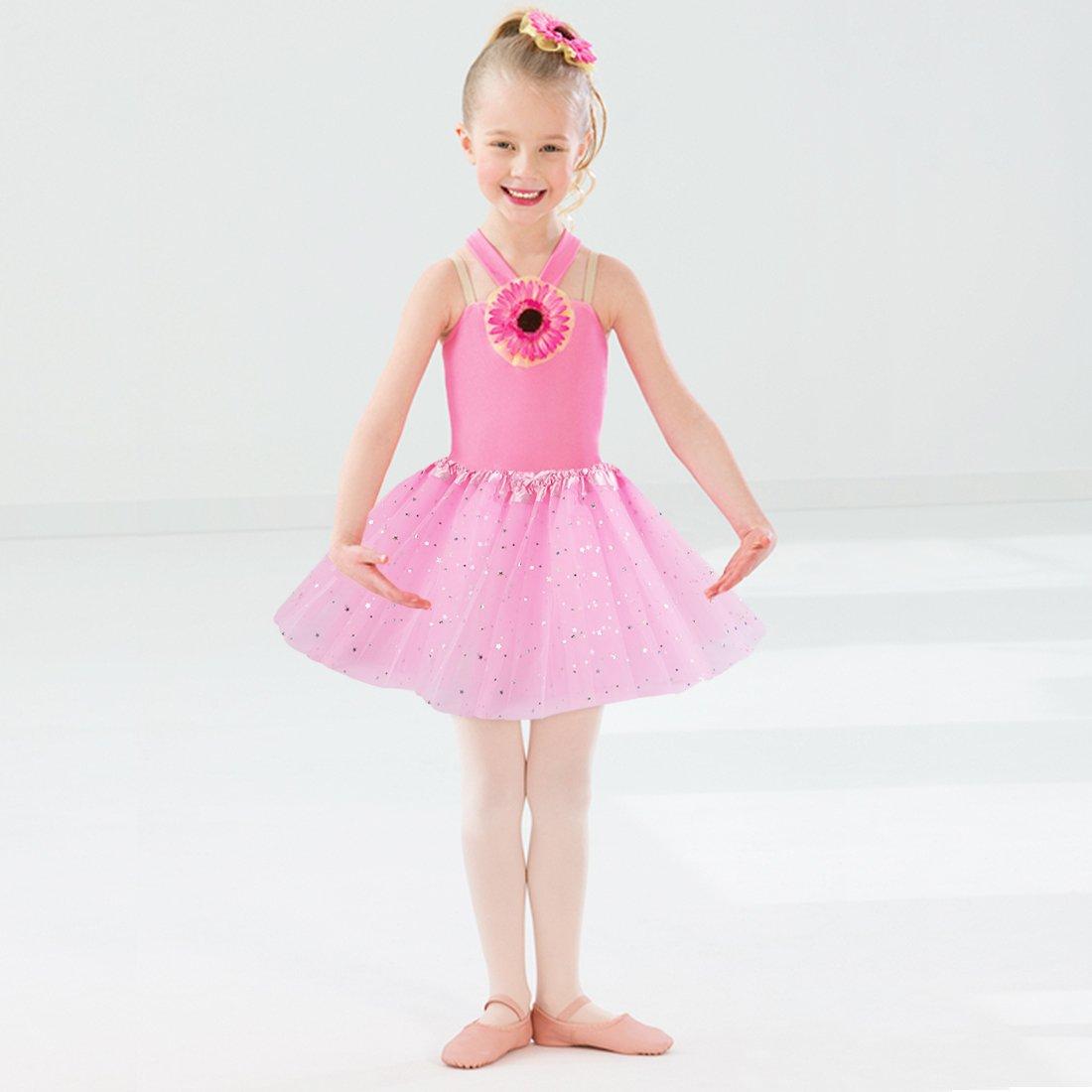 kilofly 6pc Girls Ballet Tutu Kids Birthday Princess Party Favor Dress Skirt Set by kilofly (Image #4)