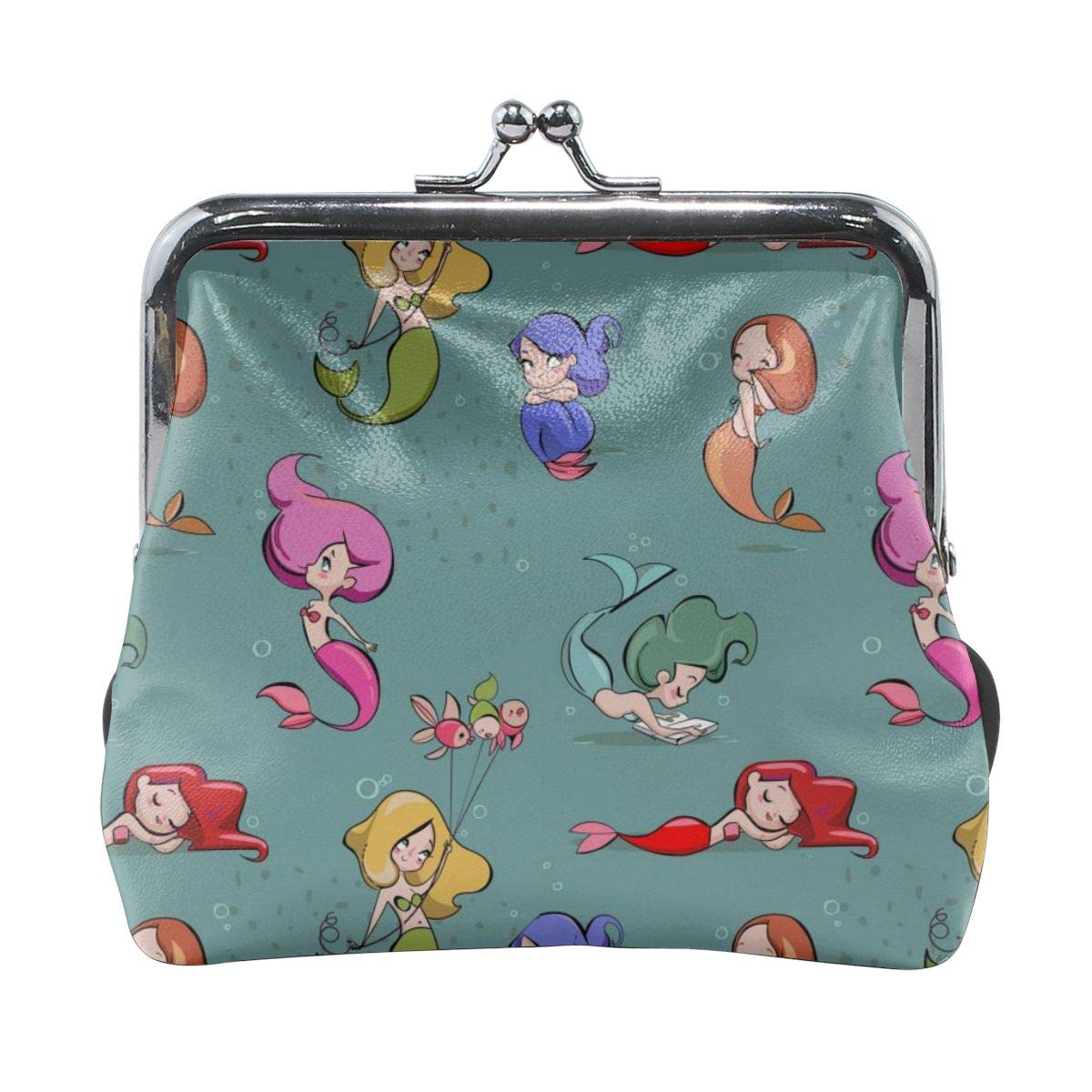 Cute Cartoon Mermaids Cute Buckle Coin Purses Buckle Buckle Change Purse Wallets