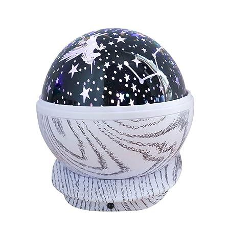 Estrella Estrellada Cielo LED luz Nocturna proyector Luna lámpara ...