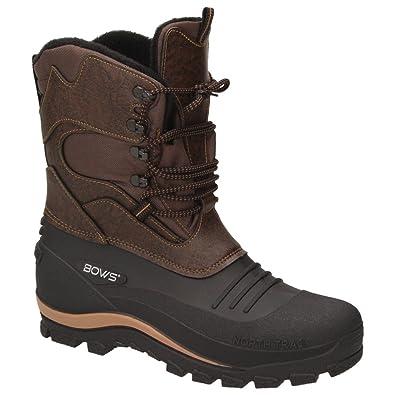 the best attitude 6cbd6 fe241 BOWS® -Karl- Herren Jungen Schuhe Winter Boots Schnee Stiefel Halbschaft  wasserdicht wasserabweisend