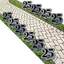We Still Do - 25th Wedding Anniversary Lawn Decorations - Outdoor Anniversary Party Yard Decorations - 10 Piece