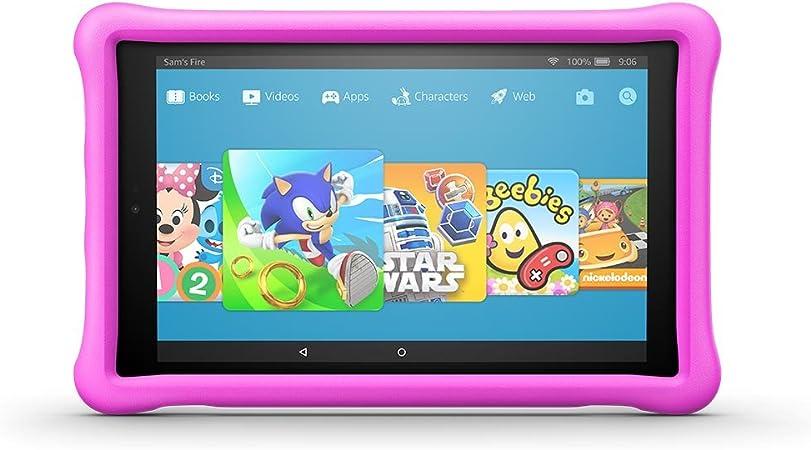 Kindgerechte Amazon Freetime Hülle Für Fire Hd 10 10 Zoll Tablet 7 Generation 2017 Pink Kindle Shop