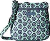 Vera Bradley Petite Double Zip Hipster (Nomadic Blossoms)