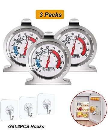Amazon.es: Termómetros para frigoríficos: Grandes electrodomésticos