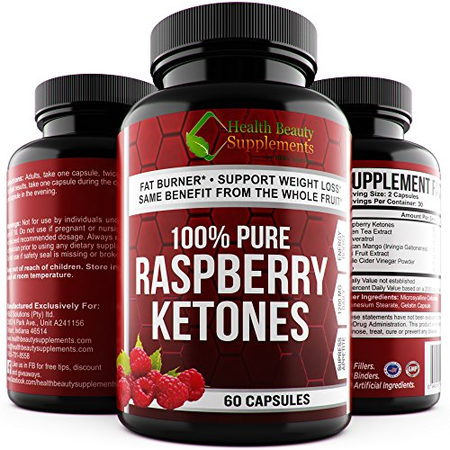 ** EXTREME STRENGTH RASPBERRY KETONES – Green Tea – African Mango – Resveratrol – Acai Fruit Extract ** Fast Acting Weight Loss 100%Pure Top Rated 5 Star Ketone – perdida de peso rapido