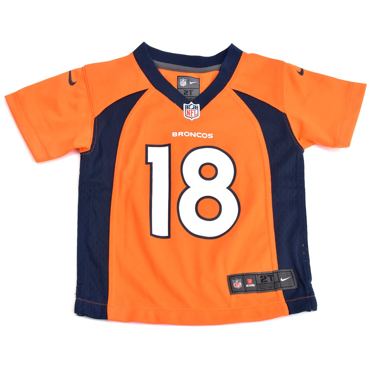 pretty nice 0722d 9df81 Outerstuff Denver Broncos NFL Youth Boys Peyton Manning #18 Jersey, Orange