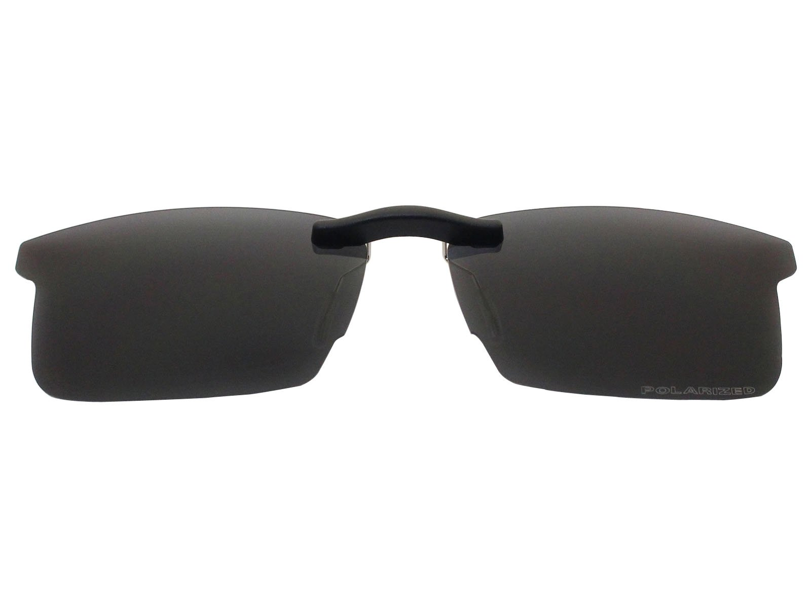 Custom Fit Polarized CLIP-ON Sunglasses For Ray-Ban RB8411 54X17 Black by COODY
