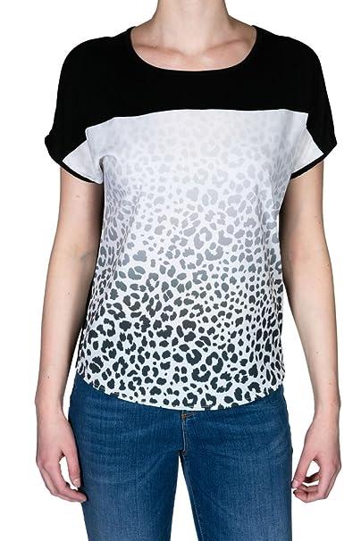 KANOPE - Camiseta - Animal Print - Cuello Redondo - Manga Corta - para Mujer: Amazon.es: Ropa y accesorios